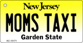 Moms Taxi New Jersey State License Plate Wholesale Key Chain