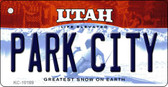 Park City Utah State License Plate Wholesale Key Chain