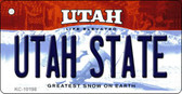 Utah State Utah State License Plate Wholesale Key Chain