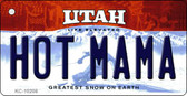 Hot Mama Utah State License Plate Wholesale Key Chain