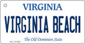 Virginia Beach Virginia State License Plate Wholesale Key Chain