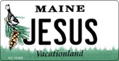 Jesus Maine State License Plate Wholesale Key Chain