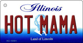 Hot Mama Illinois State License Plate Wholesale Key Chain