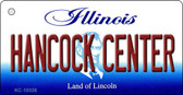 Hancock Center Illinois State License Plate Wholesale Key Chain