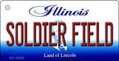 Soldier Field Illinois State License Plate Wholesale Key Chain