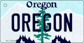 Oregon State License Plate Wholesale Key Chain