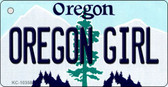 Oregon Girl Oregon State License Plate Wholesale Key Chain