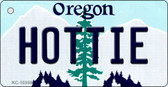 Hottie Oregon State License Plate Wholesale Key Chain