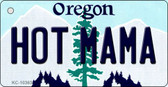 Hot Mama Oregon State License Plate Wholesale Key Chain