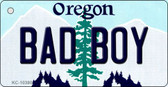 Bad Boy Oregon State License Plate Wholesale Key Chain