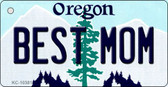 Best Mom Oregon State License Plate Wholesale Key Chain