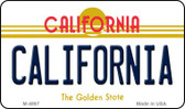 California California State License Plate Wholesale Magnet