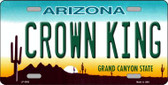 Crown King Wholesale Metal Novelty License Plate LP-2892