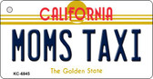 Moms Taxi California State License Plate Wholesale Key Chain