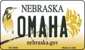 Omaha Nebraska State License Plate Wholesale Magnet