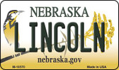 Lincoln Nebraska State License Plate Wholesale Magnet