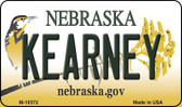 Kearney Nebraska State License Plate Wholesale Magnet