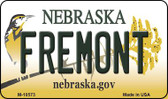 Fremont Nebraska State License Plate Wholesale Magnet