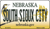 South Sioux City Nebraska State License Plate Wholesale Magnet