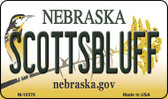 Scottsbluff Nebraska State License Plate Wholesale Magnet