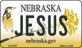 Jesus Nebraska State License Plate Wholesale Magnet