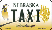 Taxi Nebraska State License Plate Wholesale Magnet