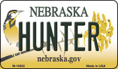 Hunter Nebraska State License Plate Wholesale Magnet
