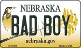 Bad Boy Nebraska State License Plate Wholesale Magnet