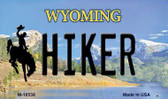 Hiker Wyoming State License Plate Wholesale Magnet
