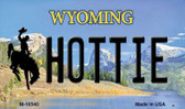 Hottie Wyoming State License Plate Wholesale Magnet