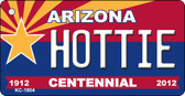 Hottie Arizona Centennial State License Plate Wholesale Key Chain