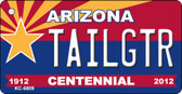 Tailgtr Arizona Centennial State License Plate Wholesale Key Chain