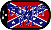 Confederate Country Gal Dog Tag Kit Novelty Necklace Wholesale
