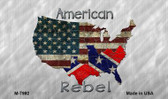 American Rebel Map Novelty Wholesale Magnet