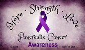 Pancreatic Cancer Ribbon Wholesale Novelty Magnet M-8318
