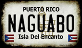 Naguabo Puerto Rico State License Plate Wholesale Magnet