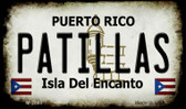 Patillas Puerto Rico State License Plate Wholesale Magnet M-2865
