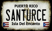 Santurce Puerto Rico State License Plate Wholesale Magnet M-4752