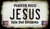 Jesus Puerto Rico State License Plate Wholesale Magnet M-6868