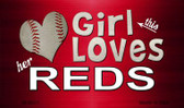 This Girl Loves Her Reds Wholesale Magnet M-8071