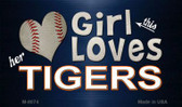 This Girl Loves Her Tigers Wholesale Magnet M-8074