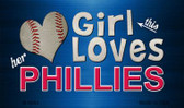This Girl Loves Her Phillies Wholesale Magnet M-8084