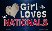 This Girl Loves Her Nationals Wholesale Magnet M-8093