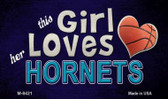 This Girl Loves Her Hornets Wholesale Magnet M-8421