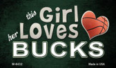 This Girl Loves Her Bucks Wholesale Magnet M-8432