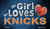 This Girl Loves Her Knicks Wholesale Magnet M-8435