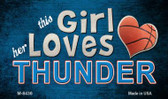 This Girl Loves Her Thunder Wholesale Magnet M-8436