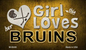 This Girl Loves Her Bruins Wholesale Magnet M-8446