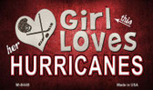 This Girl Loves Her Hurricanes Wholesale Magnet M-8448