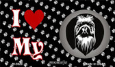 I Love My Pekingese Wholesale Magnet M-3920